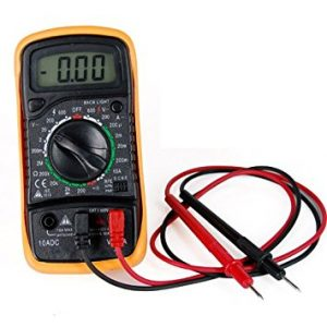 Multimeter for Immersion Heater Thermostat