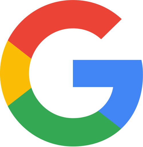 Multi Coloured G - Google Logo