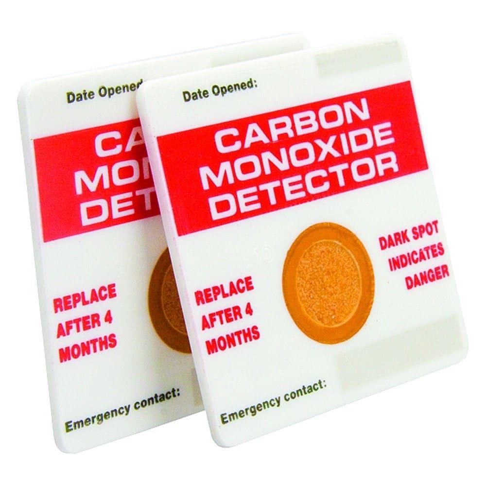 carbon monoxide detector card