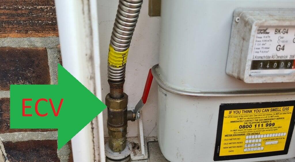 gas meter ecv