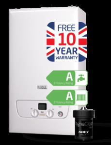 Baxi boiler with warranty