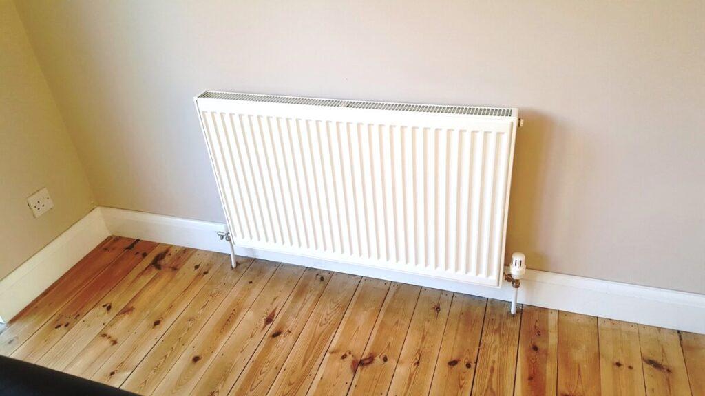 radiator replaced